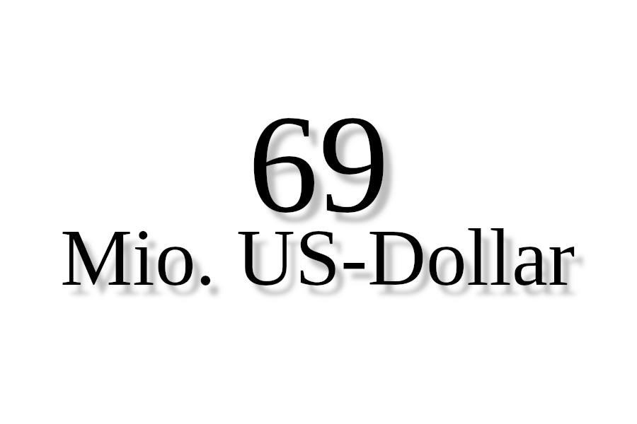 Sujet 69 Millionen US Dollar Credit ejn