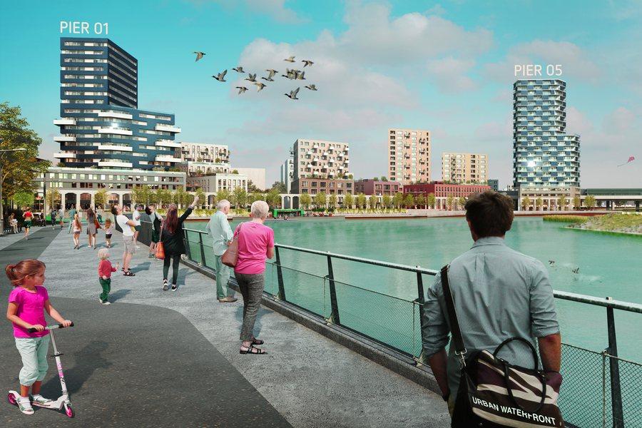 Pier 01 und 05 in der Seestadt Credit Schreinerkastler_at