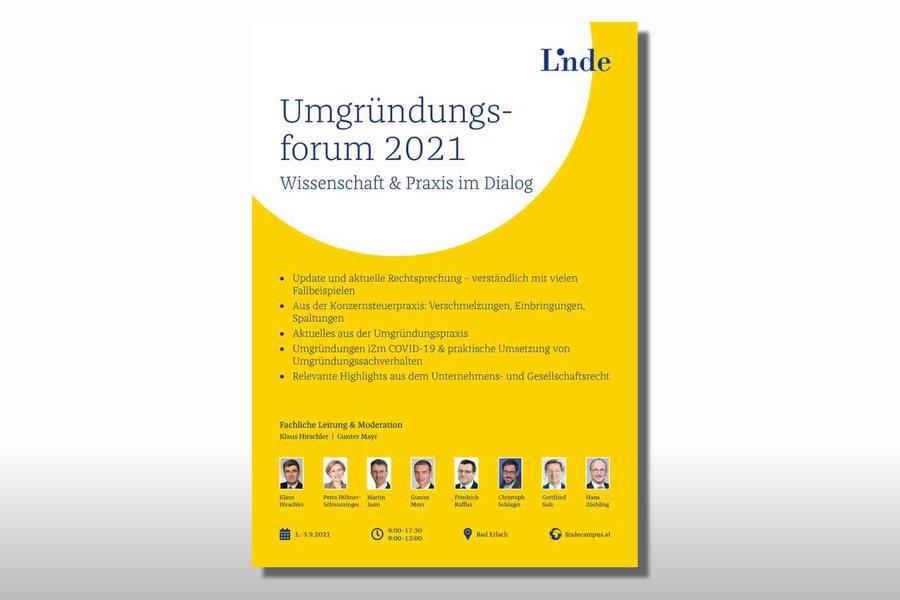 Umgruendungsforum 2021 Credit Linde