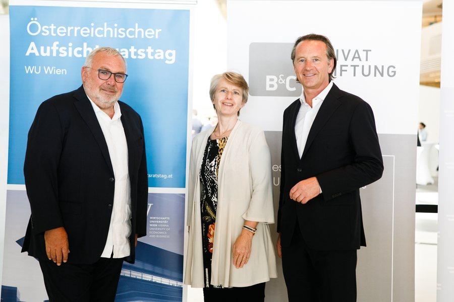 Alfred Gusenbauer Susanne Kalss Herbert Ortner Credit Aufsichtsratstag 2021 Cochic Photography