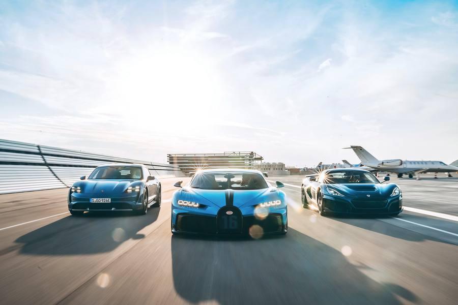 Joint Venture Bugatti Rimac Credit Porsche