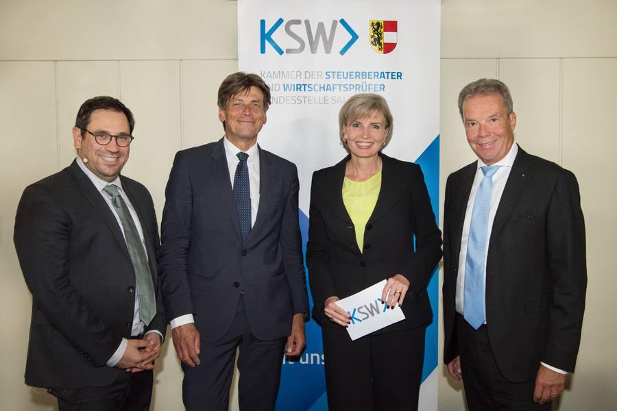 """KSW Salzburg lud zum Empfang """"Forward for future"""""""